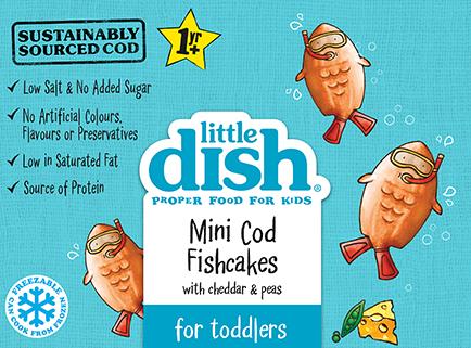 Mini Cod Fishcakes