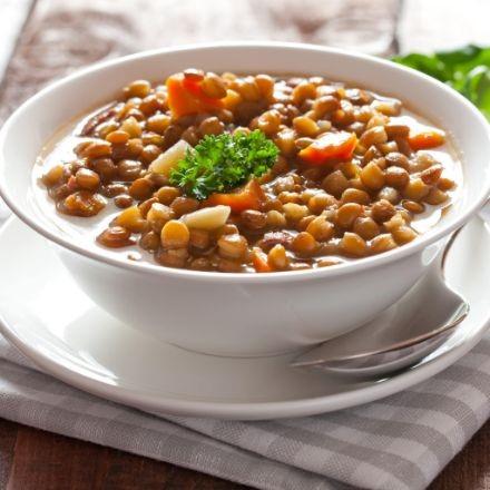 Lovely lentils recipe