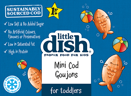 Mini Cod Goujons