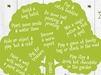 Here are some simple way you can entertain your little ones in your own back garden or yard over the coming weeks.
