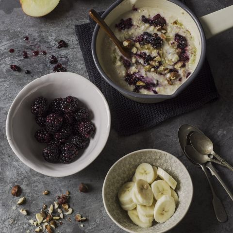 Fruit porridge recipe