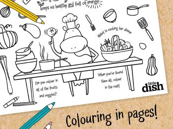 Keep little ones busy with this wonderful colour in sheet. It's a great activity for kids, for them to decorate and give to their friends and family.