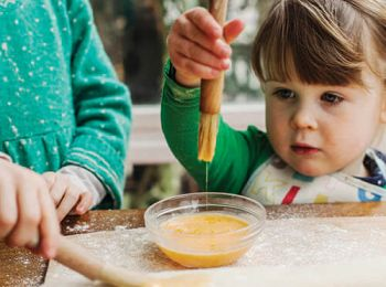 Little Dish founder, Hillary Graves, shares her advice for getting creative in the kitchen with budding little chefs.