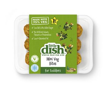 Our tasty Mini Veg Bites are perfect if you're trying to get more plant power into your little one's diet. We've made them with 75% veg – including sweet potatoes, kale and onion with fibre-packed chickpeas – all mixed together with a hint of spice for a flavour twist. Serve with wholegrain rice and plenty of veg for a nutritious mini meal, or a little pot of natural yoghurt for a tasty on-the-go snack.